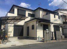 岸和田市岡山町S様邸 外壁屋根塗装工事